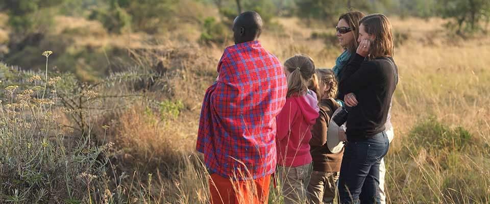 People observing. Kenya, Africa.