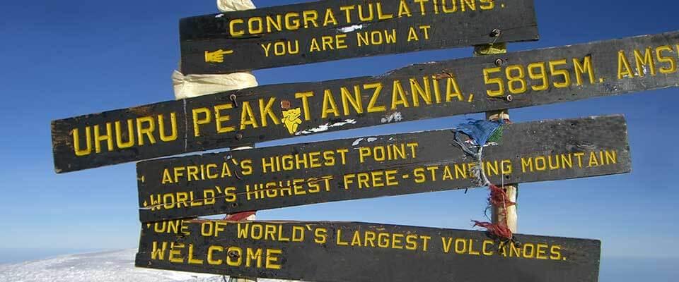 Uhuru Peak. Tanzania, Africa