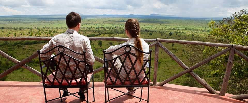Balcony view. Tanzania, Africa