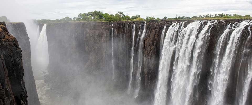 Waterfall. Zimbabwe, Africa