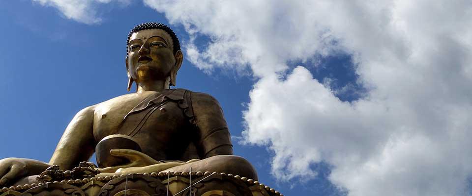 Statue. Bhutan, Asia