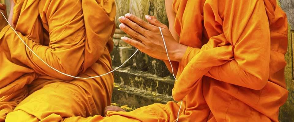Monks. Cambodia, Asia