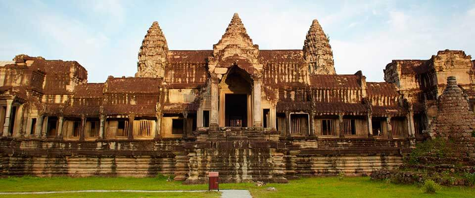 Ankor Wat. Cambodia, Asia