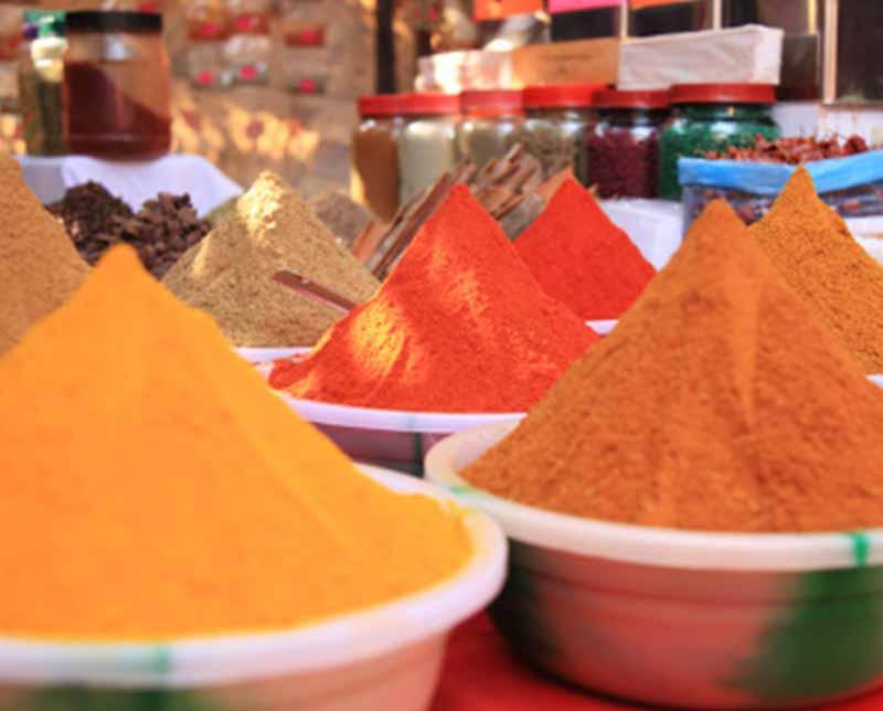 Spice Market. India, Asia.