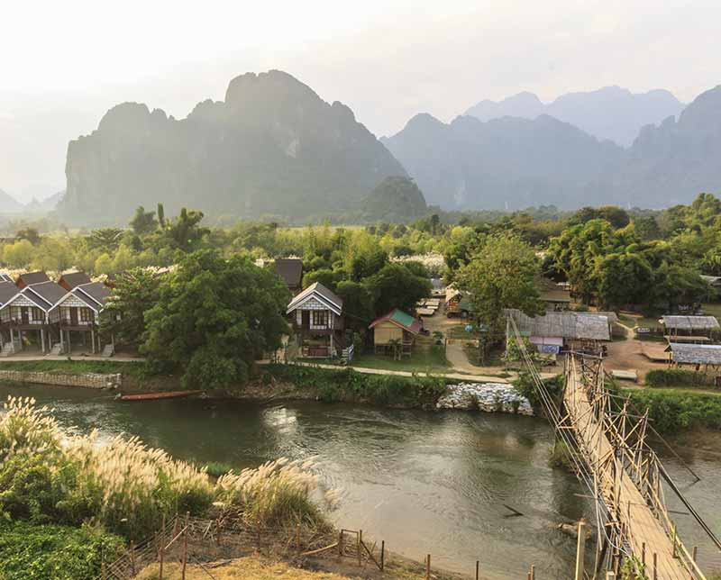 Cambodia Experience. Laos, Asia.