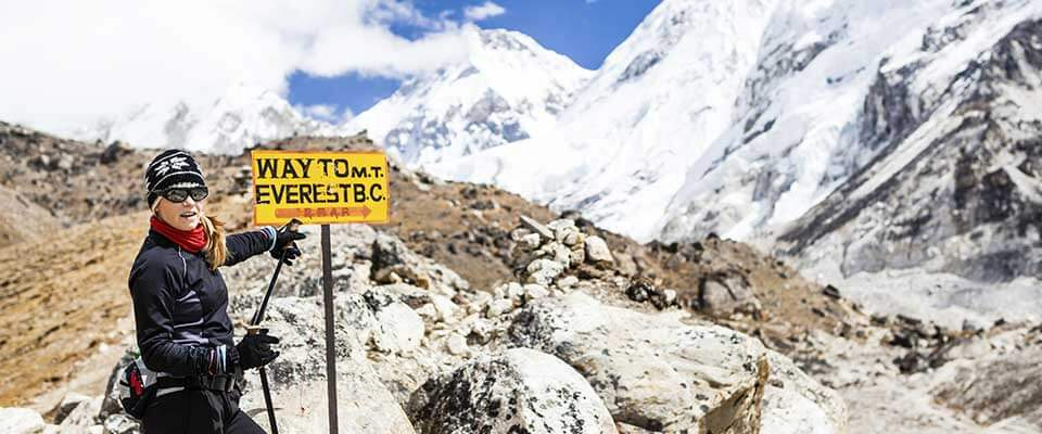 Way to Everest. Nepal, Asia.