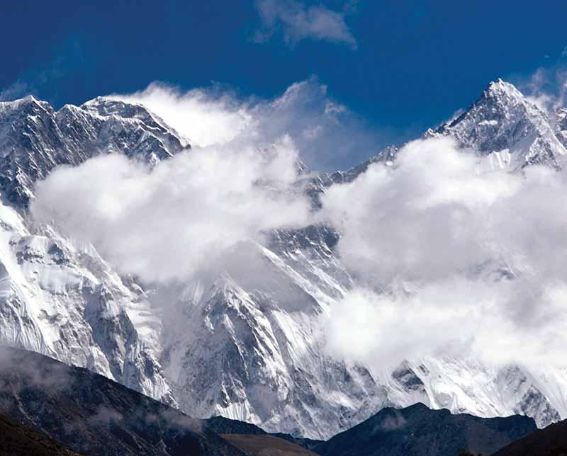 Annapurna. Nepal, Asia.