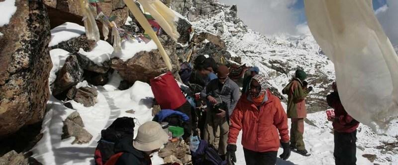 Everest base camp. Nepal, Asia.