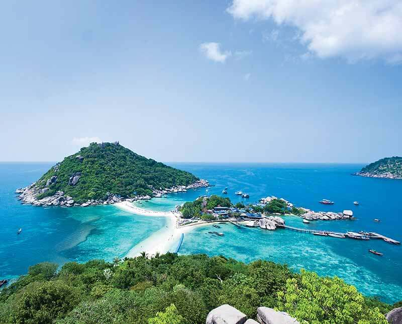 Thai sailing. Thailand, Asia.