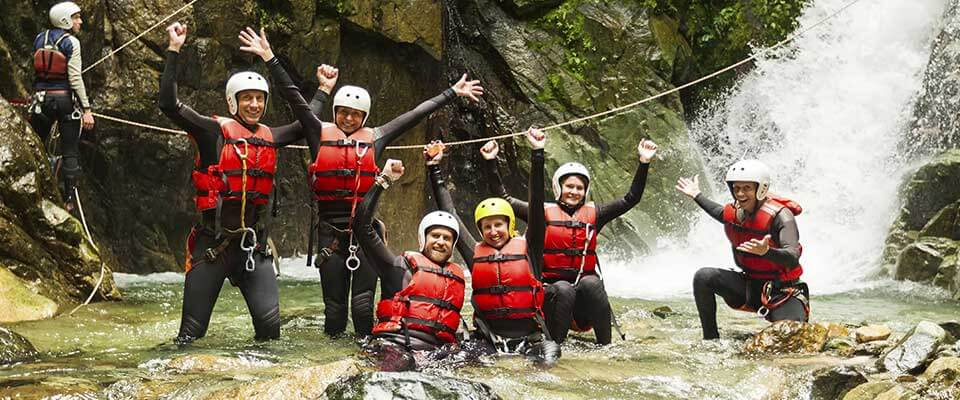 Active adventure. Costa Rica, Central America.