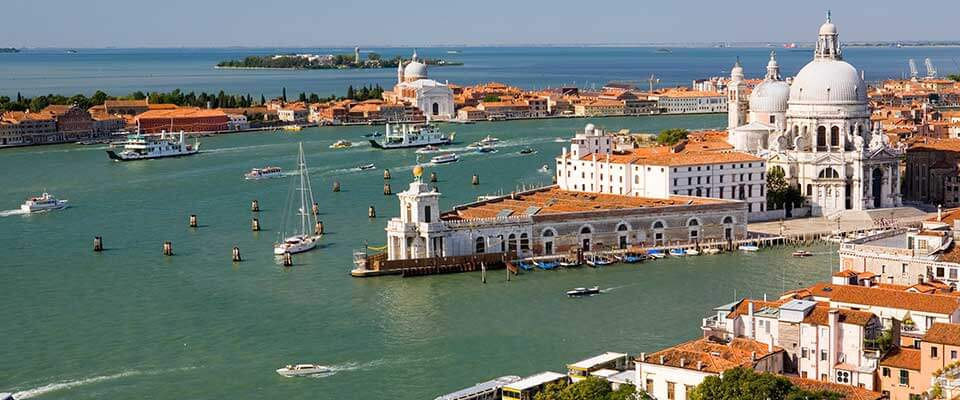 Waterfront Port. Italy.