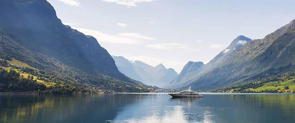 Cruise ship. Norway.