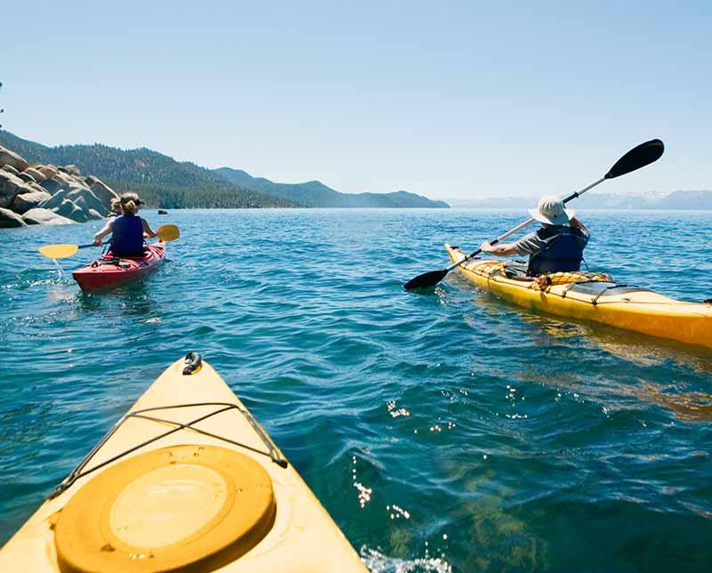 kayaking on the turquoise coast. Turkey.