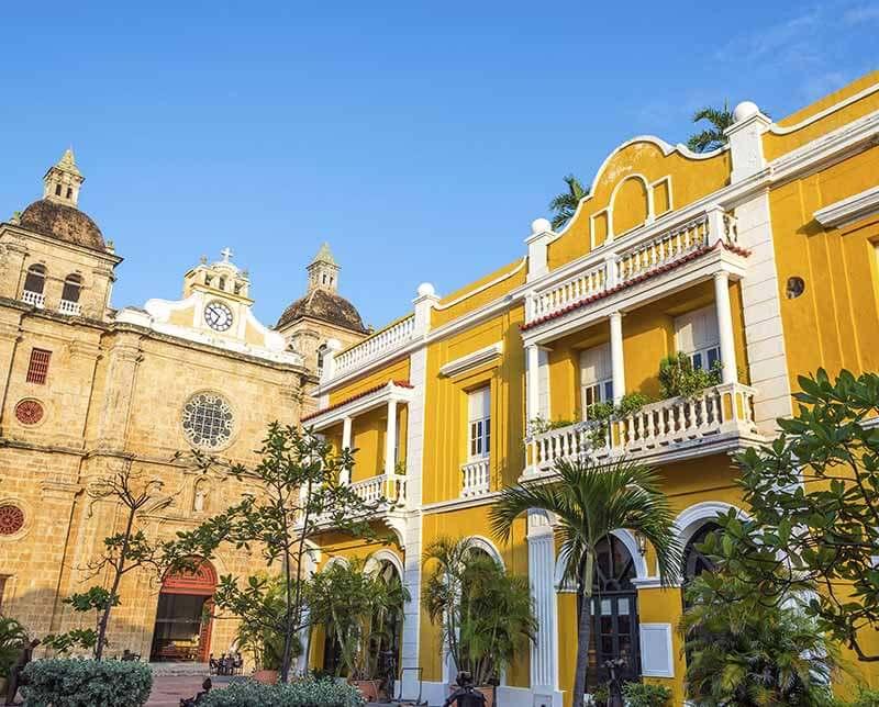 Cartagena to quito. Colombia.