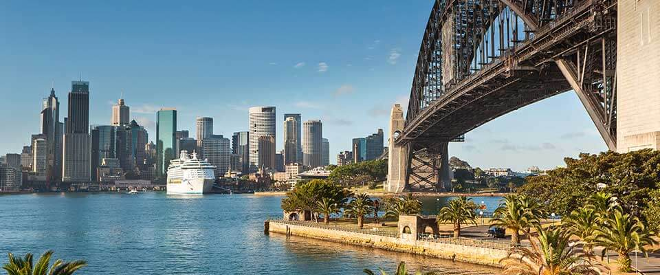 City in Australia. Australia.