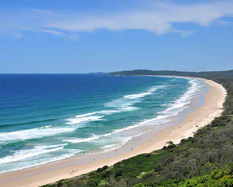 Australian beachfront. Australia - east coast.