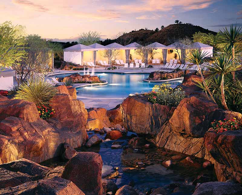 Pointe Hilton Tapatio Cliffs. Phoenix, Arizona.