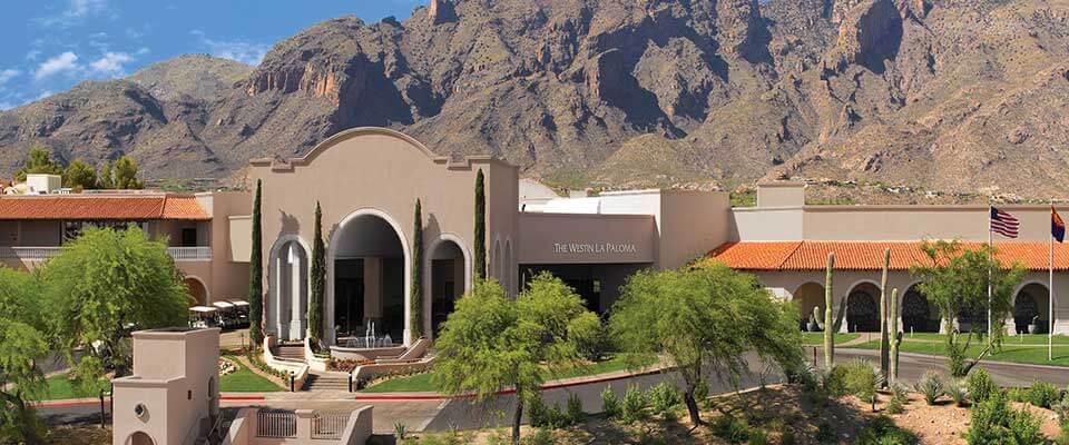 Westin La Paloma Golf and Spa. Tucson, Arizona.