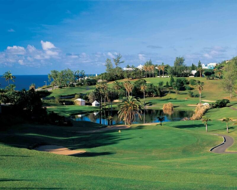 Golf course. Bermuda.
