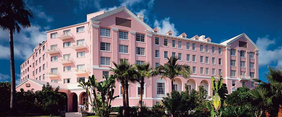 The Fairmont Hamilton Princess. Bermuda.