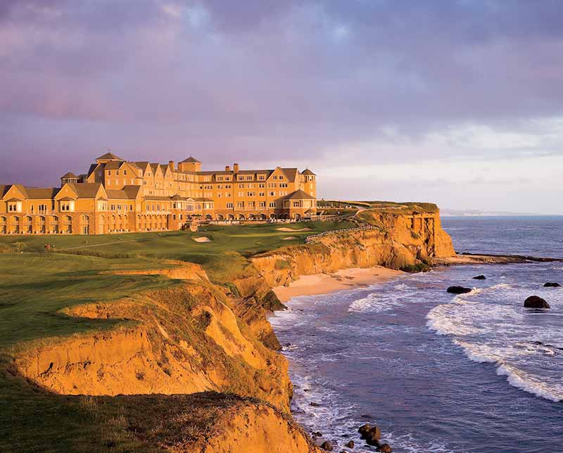 The Ritz Carlton Half Moon Bay. San Francisco, California.