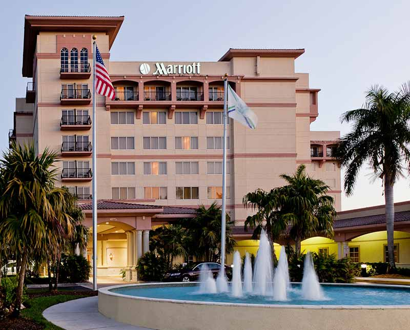 The Bonaventure Resort and spa. Fort Lauderdale, Florida.