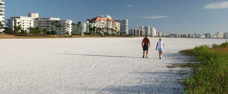 Walk on the beach. Naples Marco Island and Englewood, Florida.