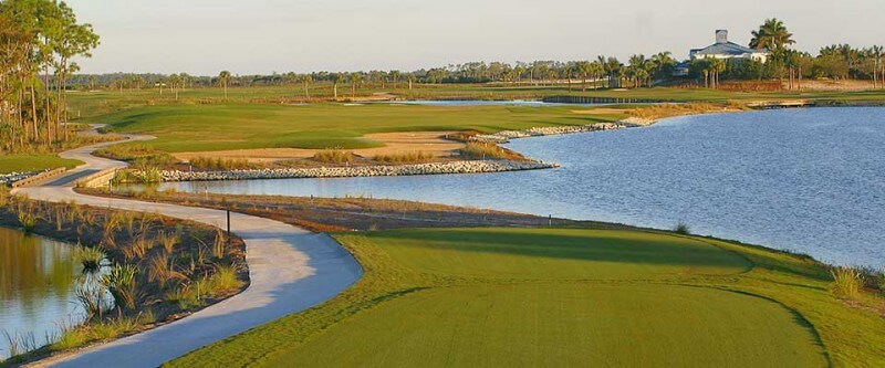 Marriott golf course. Naples Marco Island and Englewood, Florida.
