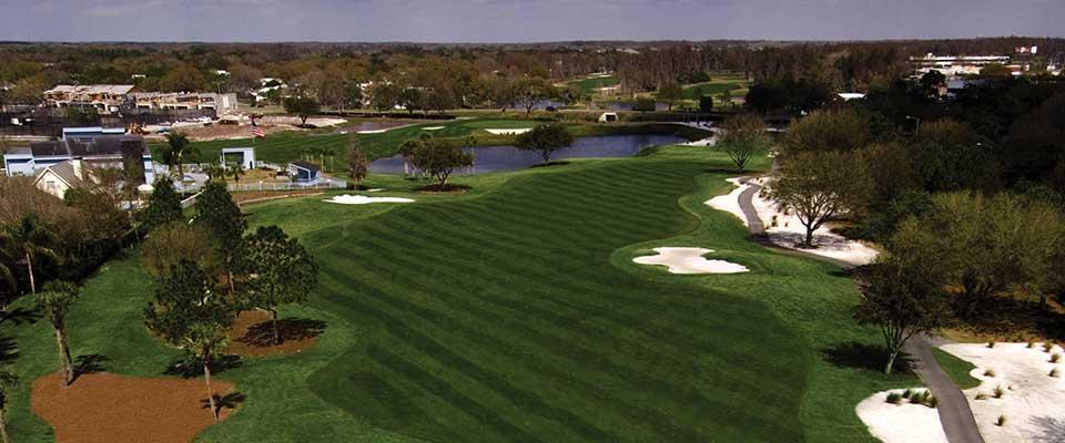 Golf course. Tampa Emerald Greens Resort, Florida.