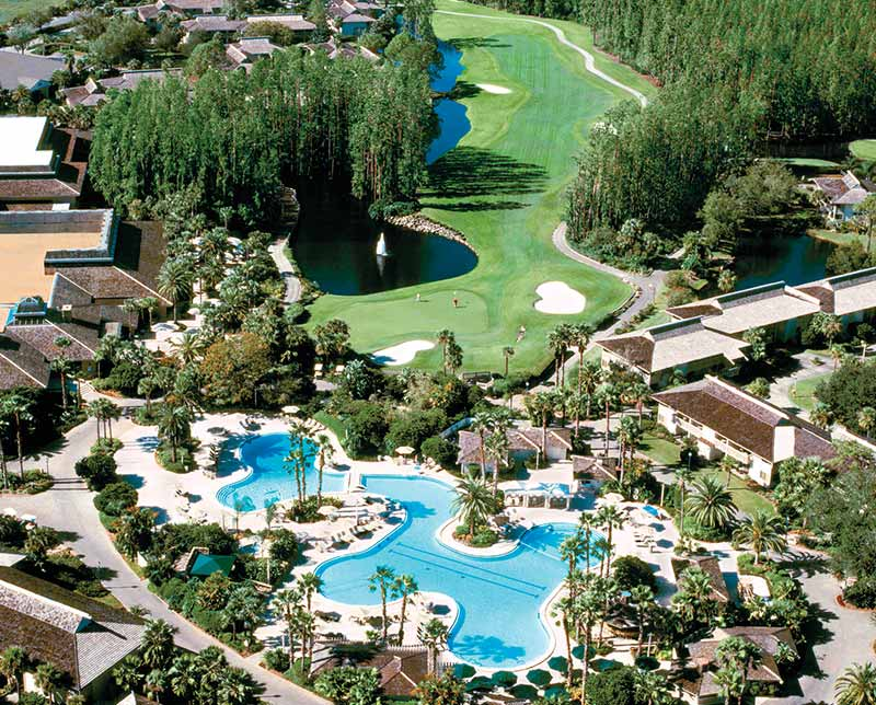 Saddlebrook Resort. Tampa, Florida.