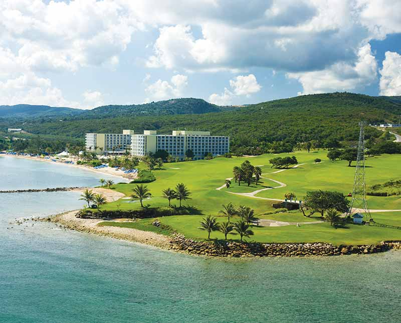 Hilton Rose Hall Resort and Spa. Jamaica.