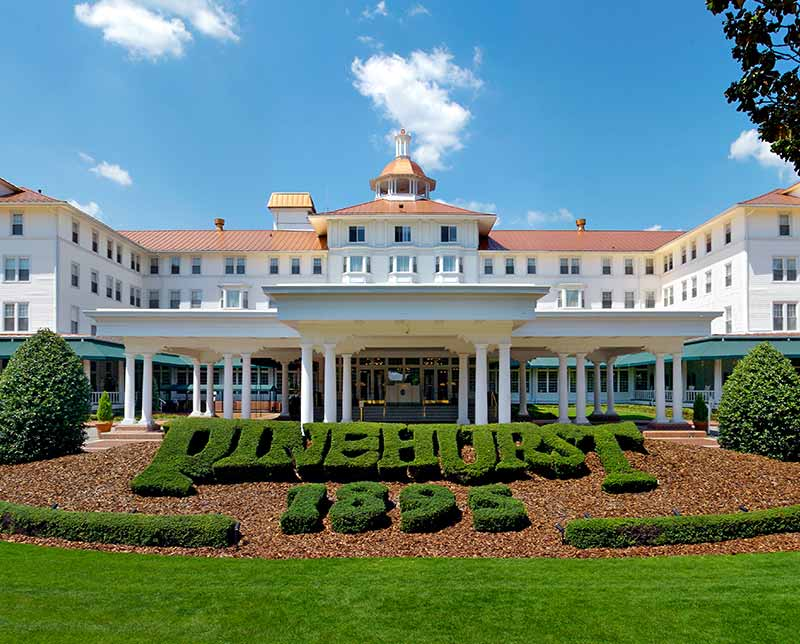 Pinehurst Resort. Southern Pines, North Carolina.