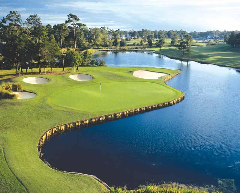 Trail Golf Resort. Sunset Beach, North Carolina.