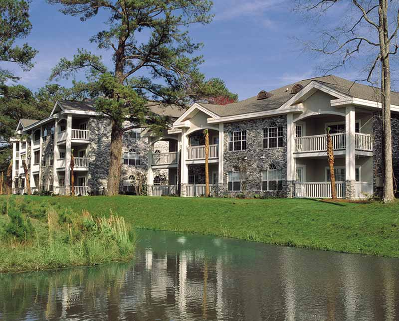 Myrtlewood Villas. Myrtle Beach, South Carolina.