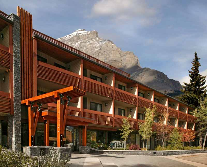 Banff Aspen Lodge. Banff and Lake Louise, Alberta.