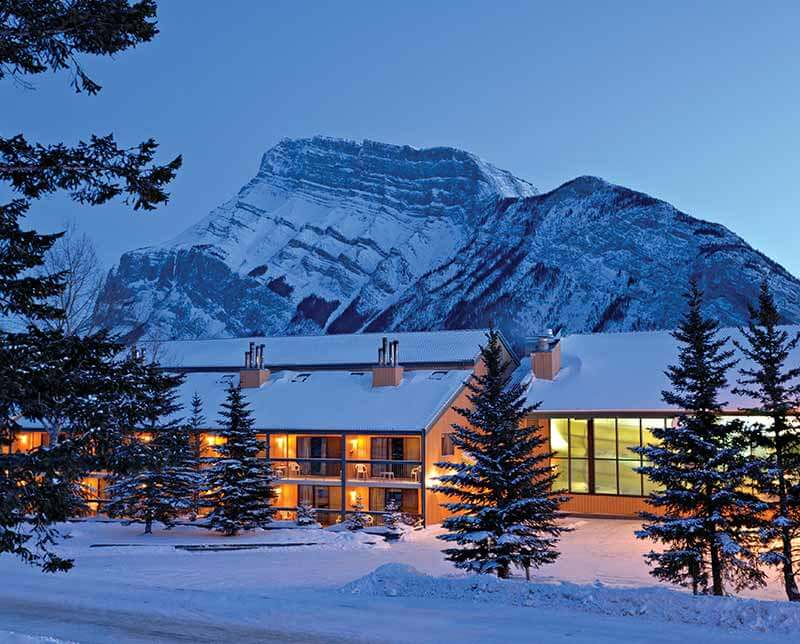 Douglas Fir Resort Chalets. Banff and Lake Louise, Alberta.