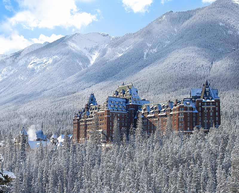 Fairmont Banff Springs. Banff and Lake Louise, Alberta.