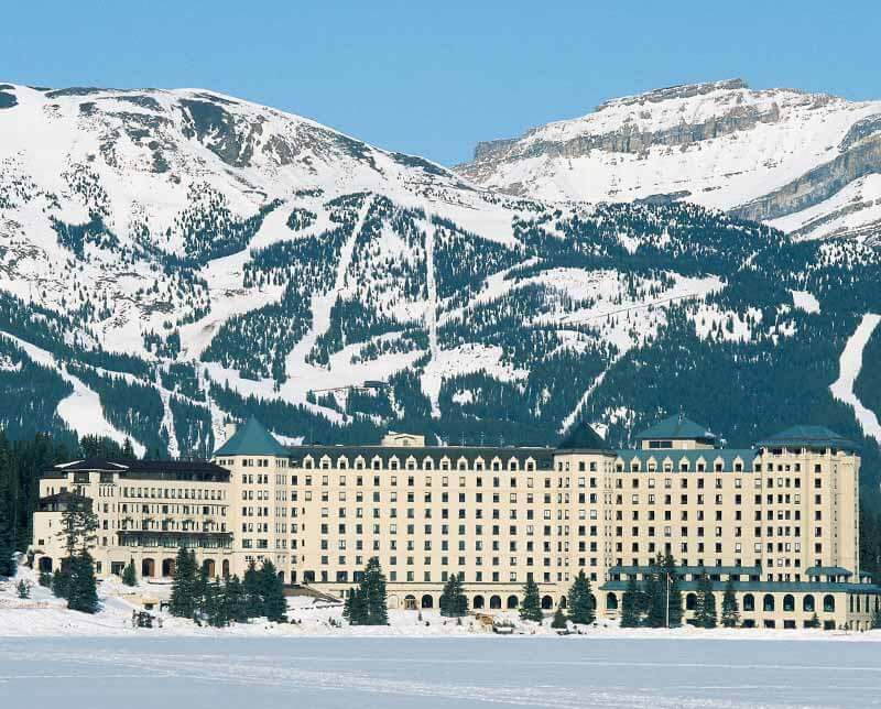 Fairmont Chateau Lake Louise. Banff and Lake Louise, Alberta.
