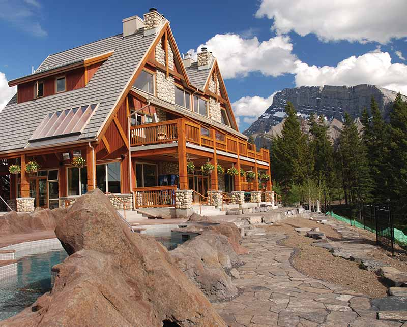 Hidden Ridge Resort. Banff and Lake Louise, Alberta.