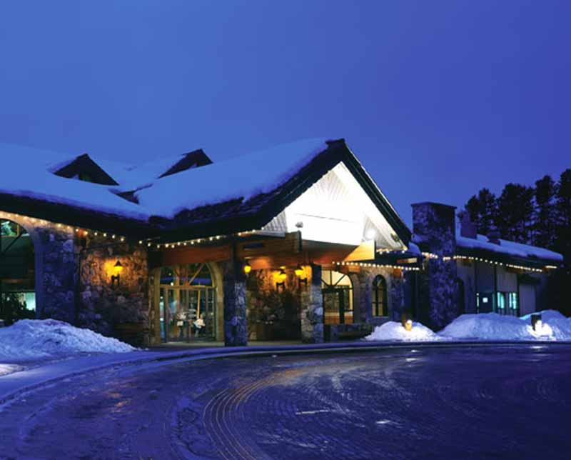 Lake Louise Inn. Banff and Lake Louise, Alberta.
