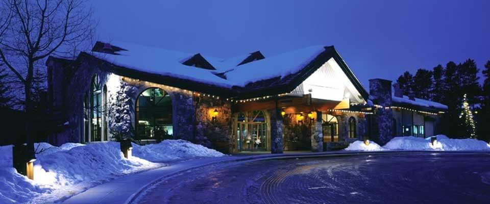 Lake Louise Inn. Banff and Lake Louise, Alberta.