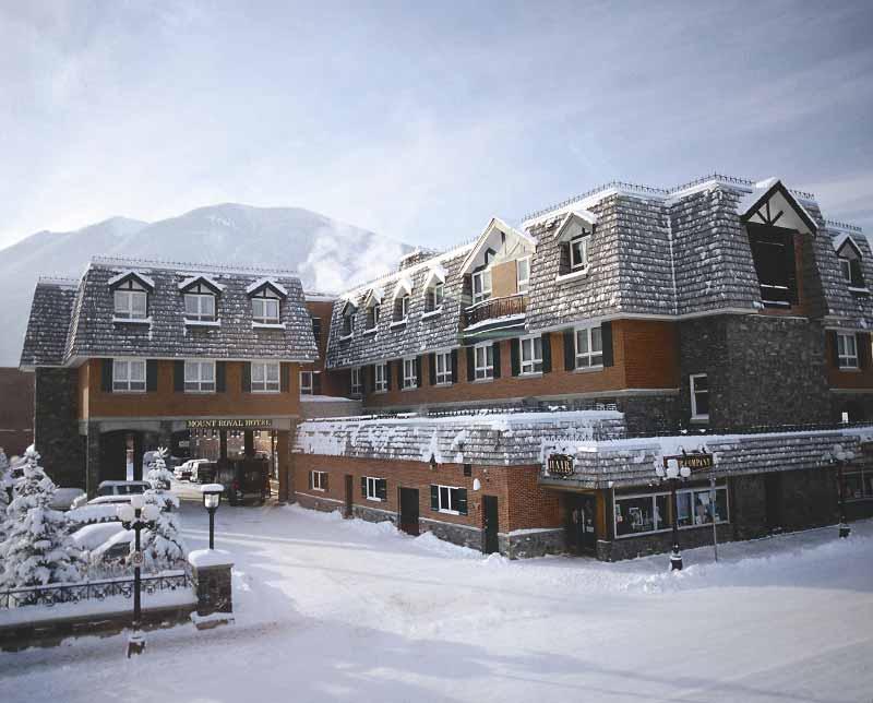 Mount Royal Hotel. Banff and Lake Louise, Alberta.