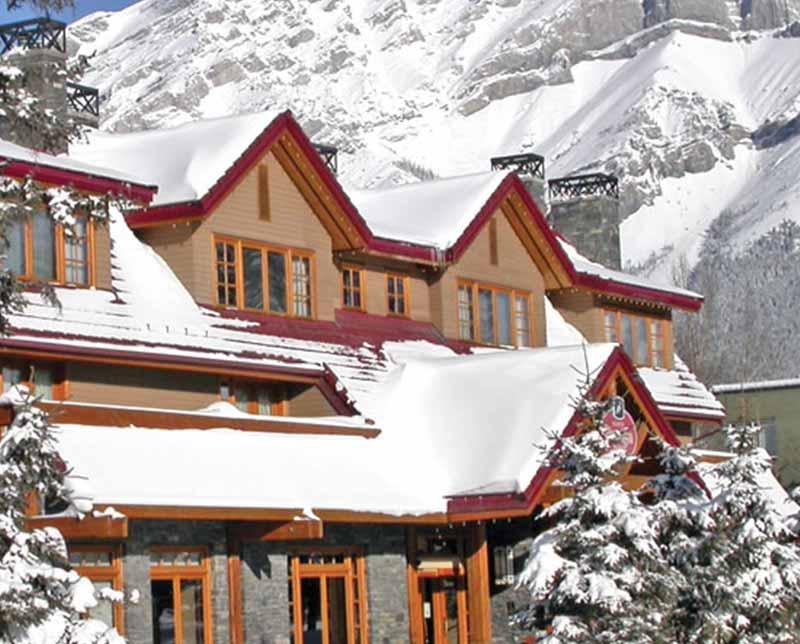 The Banff Ptarmigan Inn. Banff and Lake Louise, Alberta.