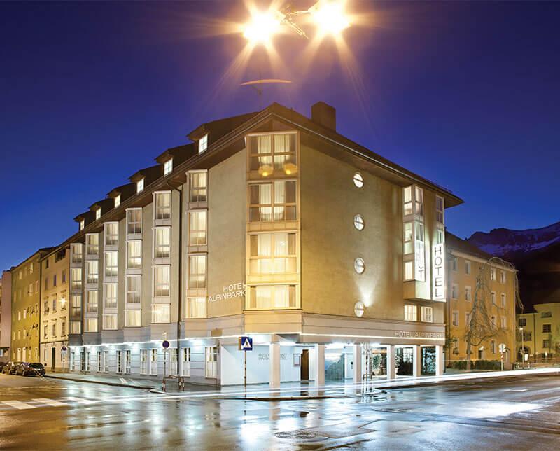 Hotel Alpinpark. Innsbruck, Austria.