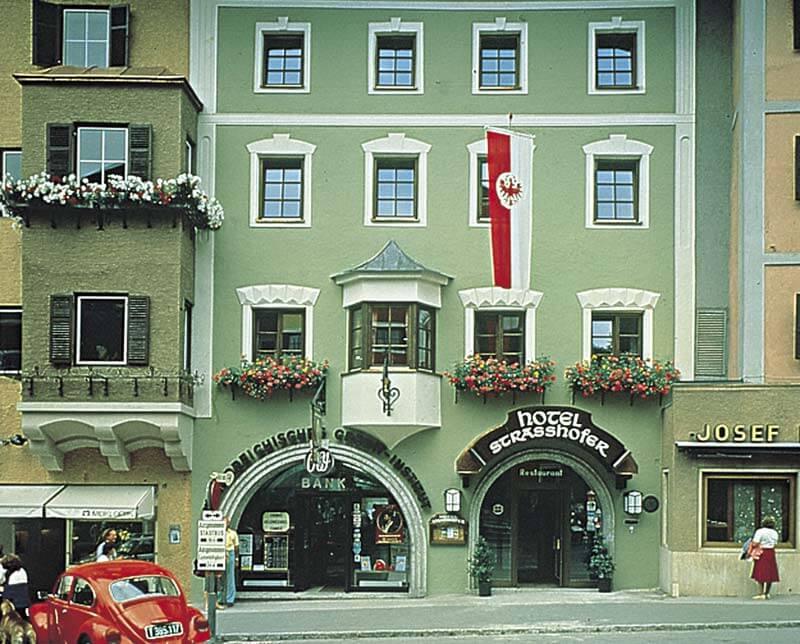 Hotel Strasshofer. Kitzbuhel, Austria.