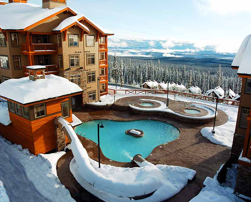 Sundance Resort. Big White, BC.