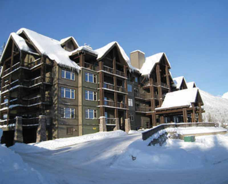 Palliser Lodge Resort. Kicking Horse, BC.