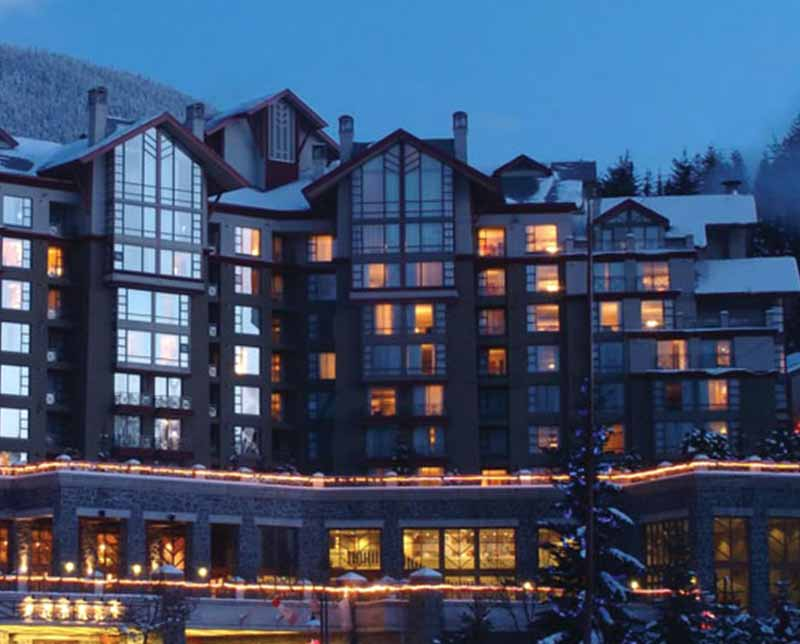 The Westin Resort Spa. Whistler, BC.