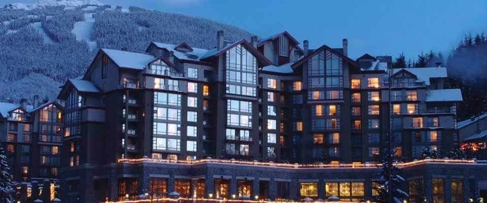 The Westin Resort Spa. Whistler, BC.