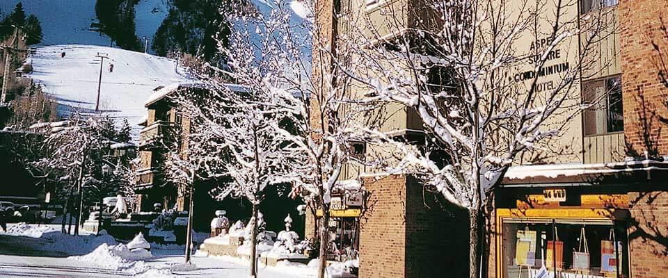 Aspen Square. Aspen Snowmass, Colorado.